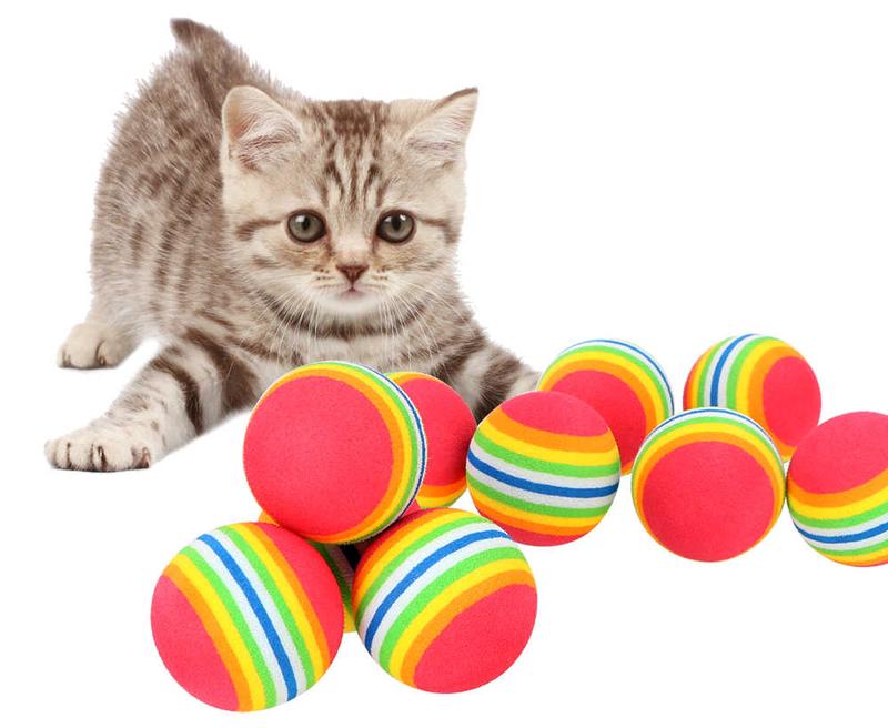 Мягкие игрушки для кошек
